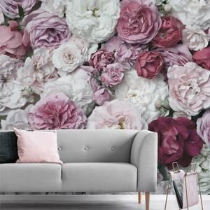 Bouquet Blush Wall Mural