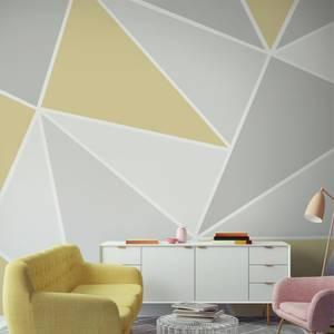 Trinity Geo Yellow Wall Mural