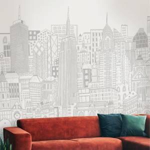 City Sketch Natural Wall Mural