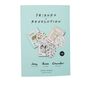 Revolution X Friends Male Sheet Mask Set