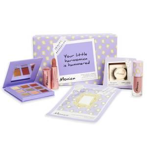 Revolution X Friends Monica Bundle (Mask, 9 Pan Palette, Lipgloss, Lipstick & Exclusive Lash)