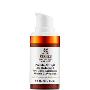 Kiehl's Powerful-Strength Line-Reducing and Dark Circle-Diminishing Vitamin C Eye Serum 15ml
