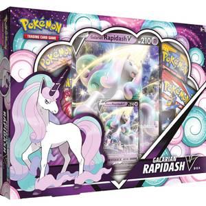 Pokemon TCG: Galarian Rapidash V Box