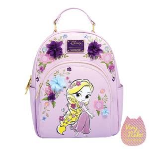 Loungefly Rapunzel Floral Mini Backpack - VeryNeko Exclusive