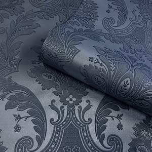 Belgravia Decor Amara Dark Blue Damask Wallpaper