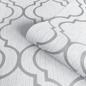 Belgravia Decor Amelie Trellis Grey Wallpaper