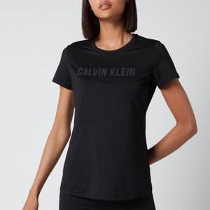 Calvin Klein Performance Women's Essentials Ss T-Shirt - CK Black