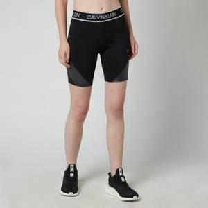 Calvin Klein Performance Women's Cyclist Length Short - CK Black