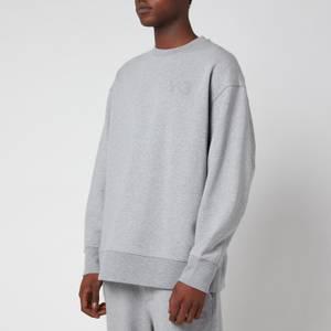 Y-3 Men's Classic Chest Logo Crewneck Sweatshirt - Medium Grey Heather