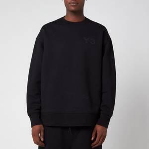 Y-3 Men's Classic Chest Logo Crewneck Sweatshirt - Black