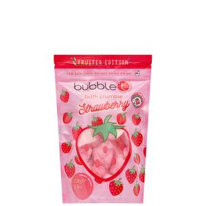 Bubble T Bath Crumble - Strawberry 250g