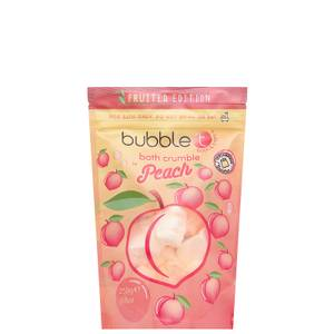 Bubble T Bath Crumble - Peach 250g
