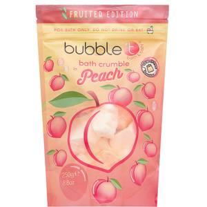 Bubble T Bath Crumble - Peach 250g