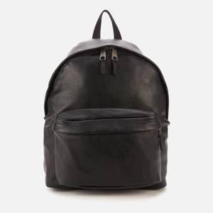 Eastpak Men's Padded Pak'R Vegan Leather Backpack - Grained Black