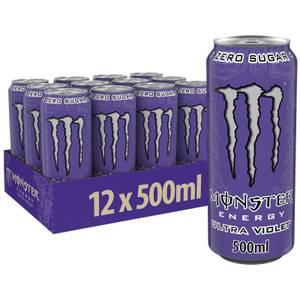 Monster Ultra Violet 12 x 500ml
