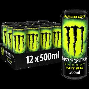 Monster Nitro Super Dry 12 x 500ml