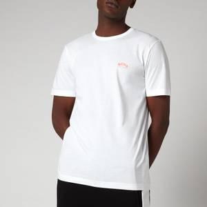 BOSS Athleisure Men's Curved Logo T-Shirt - Natural