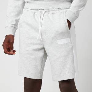BOSS Athleisure Men's Headlo Batch Shorts - Pastel Grey