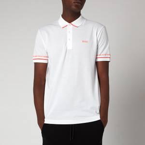 BOSS Athleisure Men's Paddy 1 Polo Shirt - White