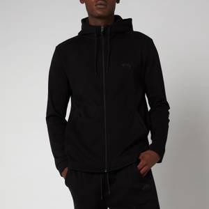 BOSS Athleisure Men's Saggy Zip Through Hoody - Black