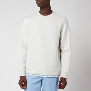 BOSS Athleisure Men's Salbo 1 Sweatshirt - Pastel Grey
