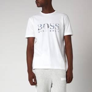 BOSS Athleisure Men's Tee 3 T-Shirt - White