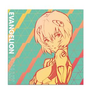 Evangelion Finally LP (Blue Rei-nbow Splattered)