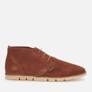 Barbour Men's Ledger Suede Chukka Boots - Chestnut