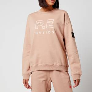 P.E Nation Women's Heads Up Sweat - Rugby Tan