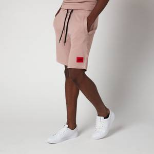 HUGO Men's Relaxed Fit Sweat Shorts - Light Pastel Brown