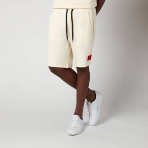 HUGO Men's Relaxed Fit Sweat Shorts - Natural