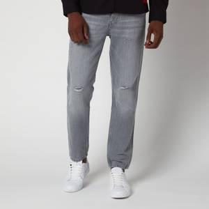 HUGO Men's 634 Tapered Denim Jeans - Silver
