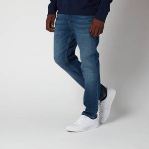 HUGO Men's 634 Tapered Denim Jeans - Bright Blue