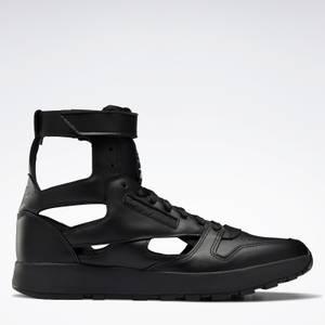 Maison Margiela X Reebok Men's Leather Gladiator Hi-Top Trainers - Black
