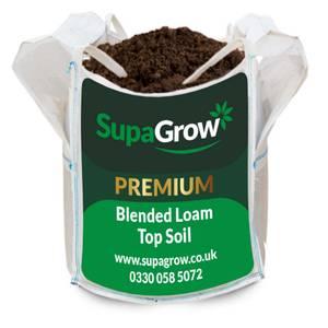 SupaGrow Premium Blended Topsoil 600L