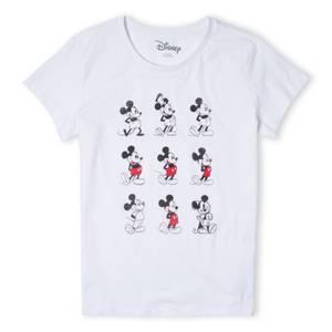 Disney Evolution Nine Poses Women's T-Shirt - White