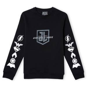 Justice League Zack Snyders JL Unisex Sweatshirt - Black