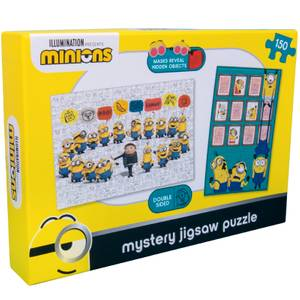 Minions Double Sided Mystery Jigsaw Puzzle 100pcs