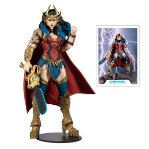 McFarlane DC Build-A-Figure Wv4 - Death Metal - Wonder Woman Action Figure