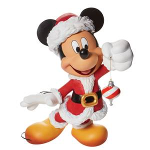 Disney Showcase Collection Santa Mickey Santa Couture Figurine