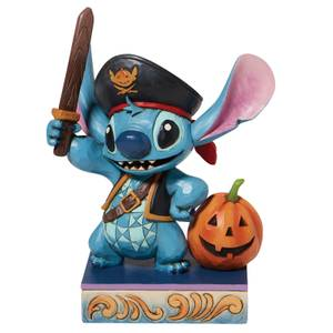 Disney Traditions Stitch As A Pirate Figurine