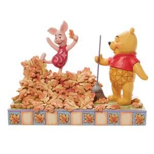 Disney Traditions Piglet & Poo Figurine