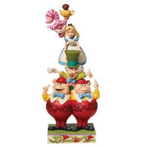 Disney Traditions Alice Stacked Figurine