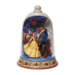 Disney Traditions Beauty Beast Dome
