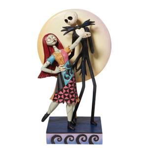 Disney Traditions Jack And Sally Love Figurine