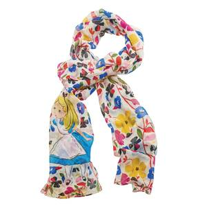 Enchanting Disney Collection Alice In Wonderland Scarf