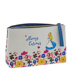 Enchanting Disney Collection Alice Cosmetic Bag