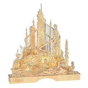 Disney By Department 56 King Triton Illuminated Palace