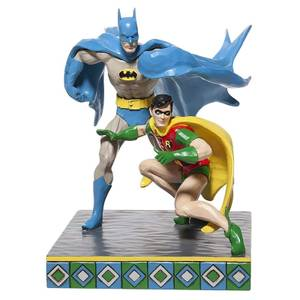 DC Comics By Jim Shore Batman And Robin Figurine