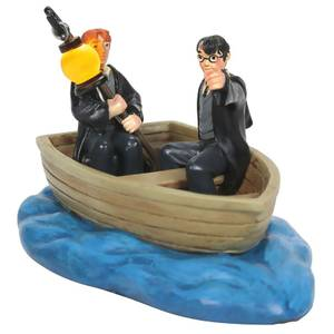 Harry Potter Village By D56 Harry And Ron In A Boat